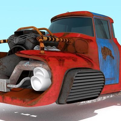 Nathaniel tintinger truck16
