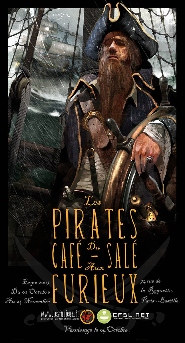 Benjamin carre pirates 2007b