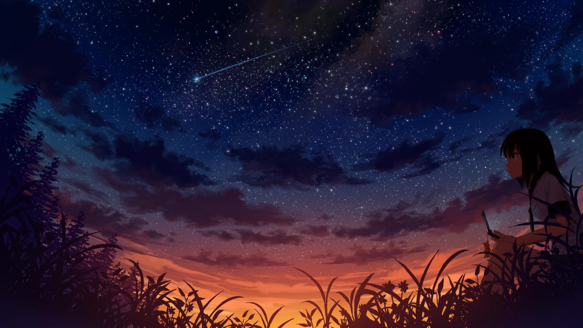 artstation starry night sky charlie vega