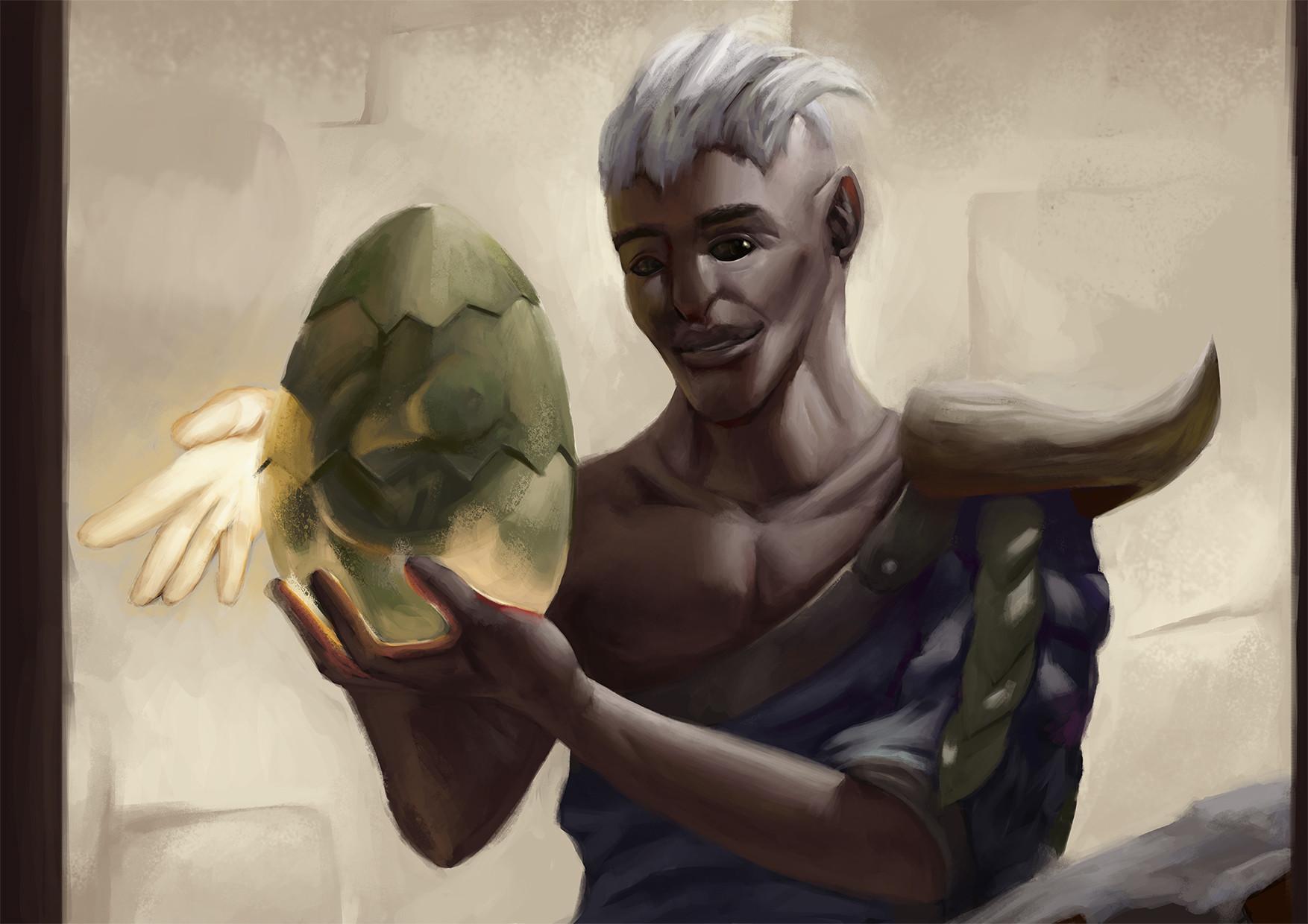 Liam maher golban egg salesman