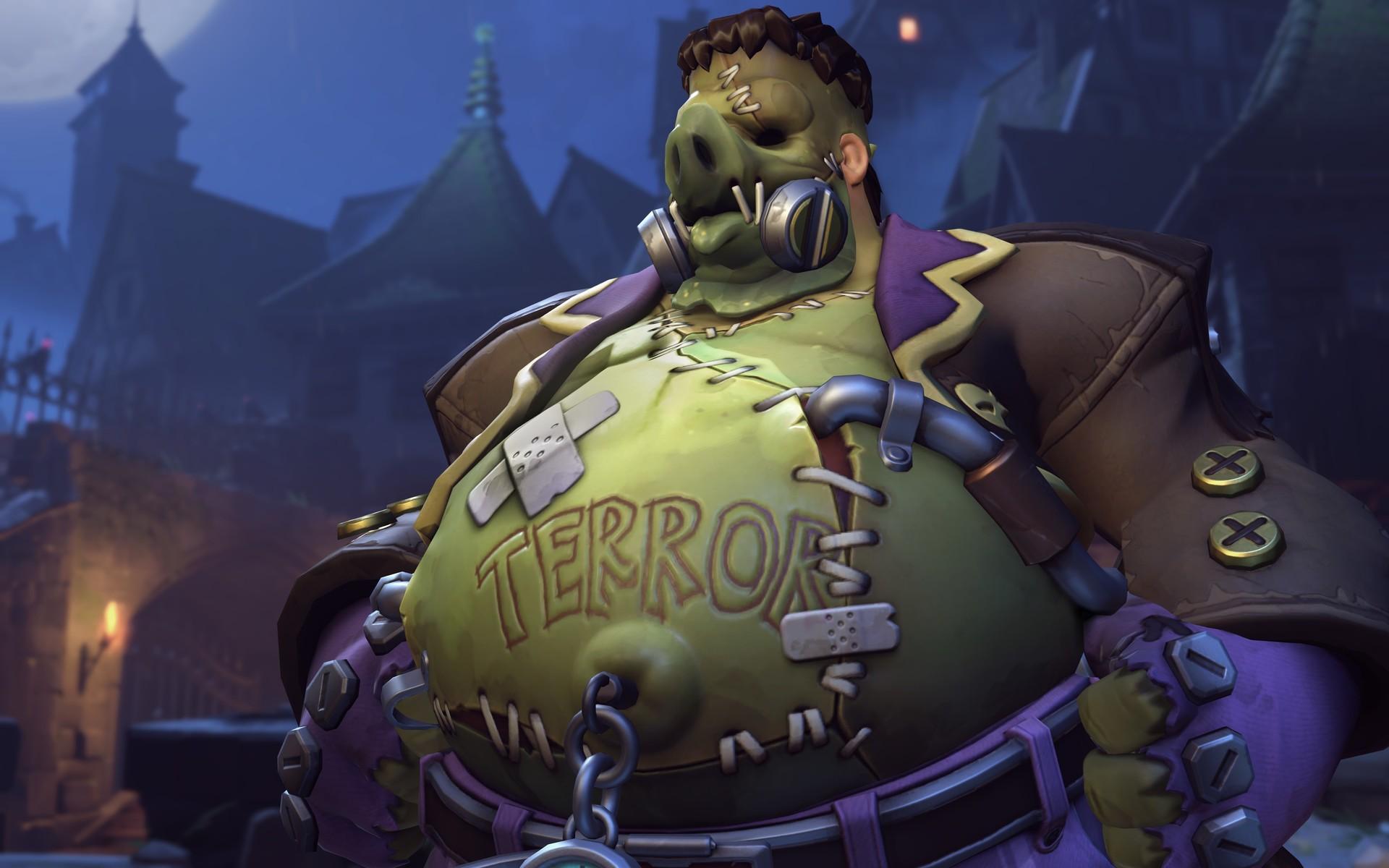 ArtStation - Overwatch Halloween Terror Skins, Airborn Studios