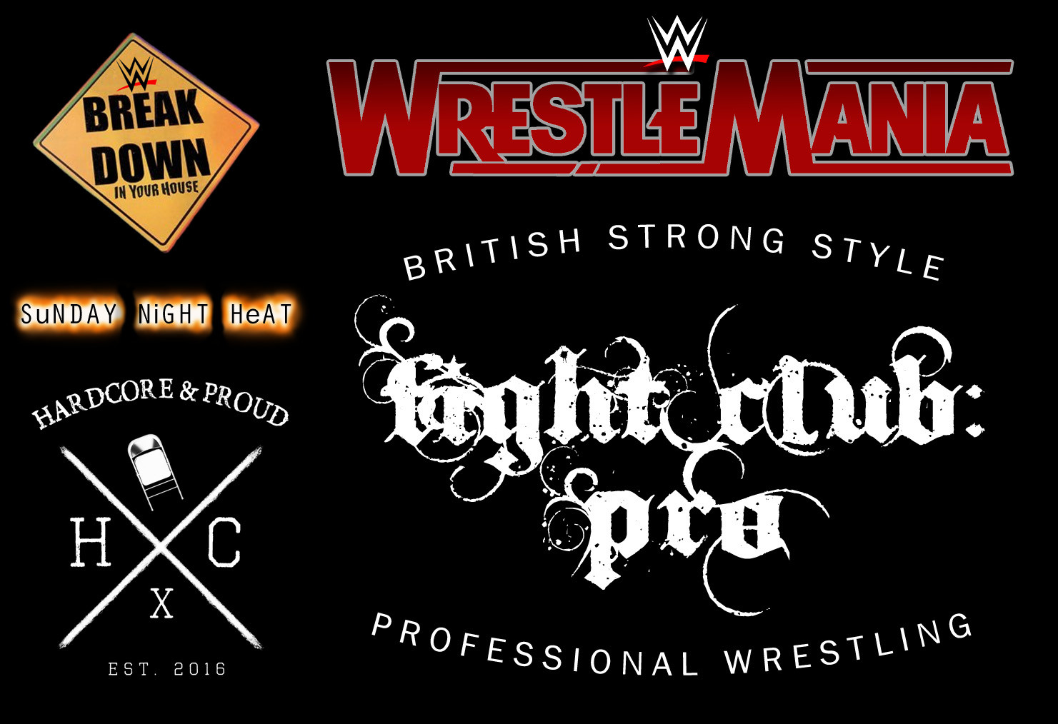 ArtStation - UI & Logos: WWE 2K17 Custom Logos, Craig Whitehouse