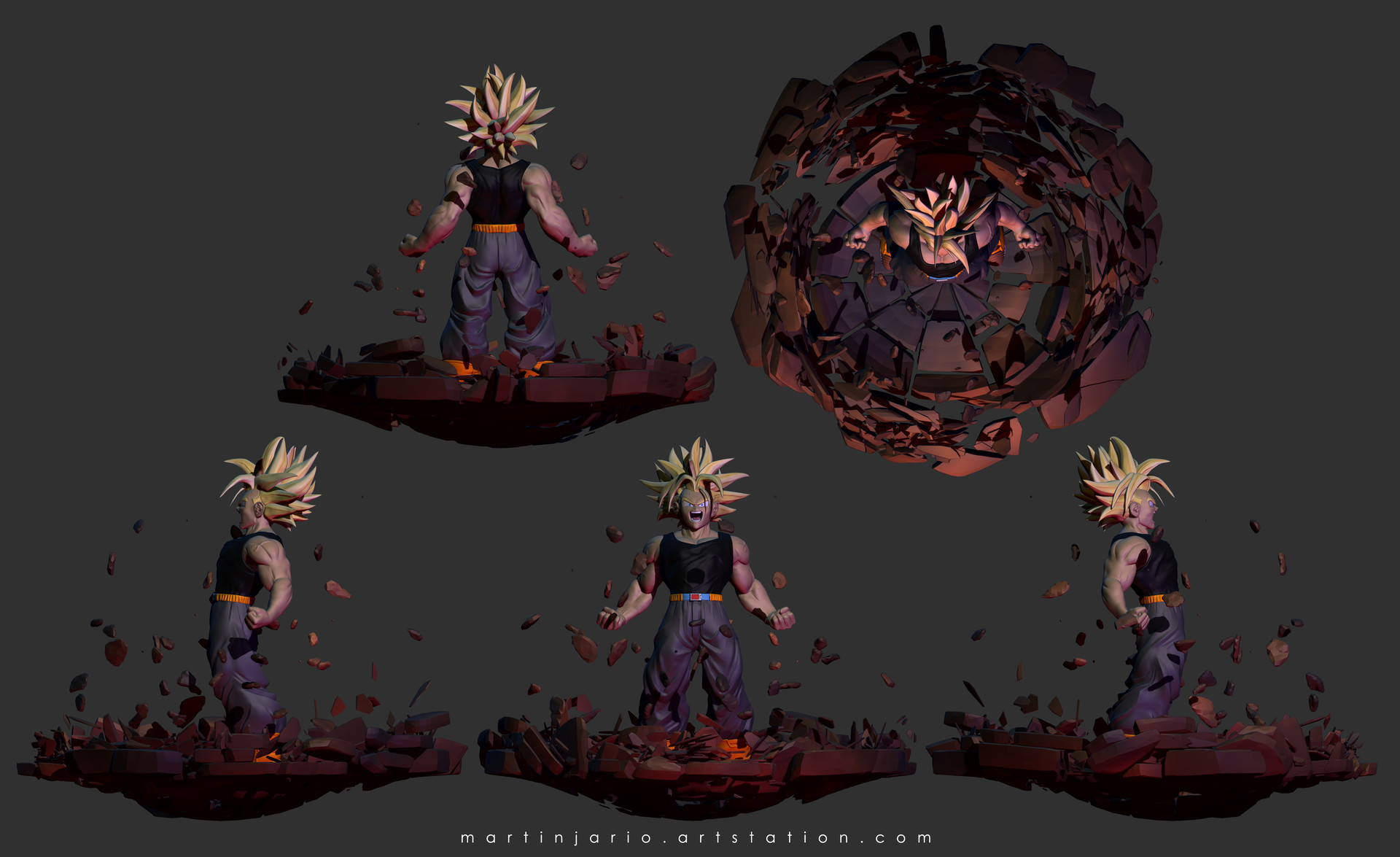 Martin jario martinjario trunks artstation render views
