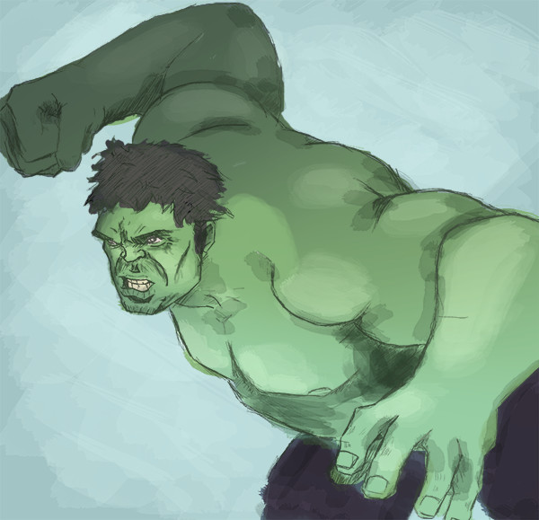 Speedpaint Hulk