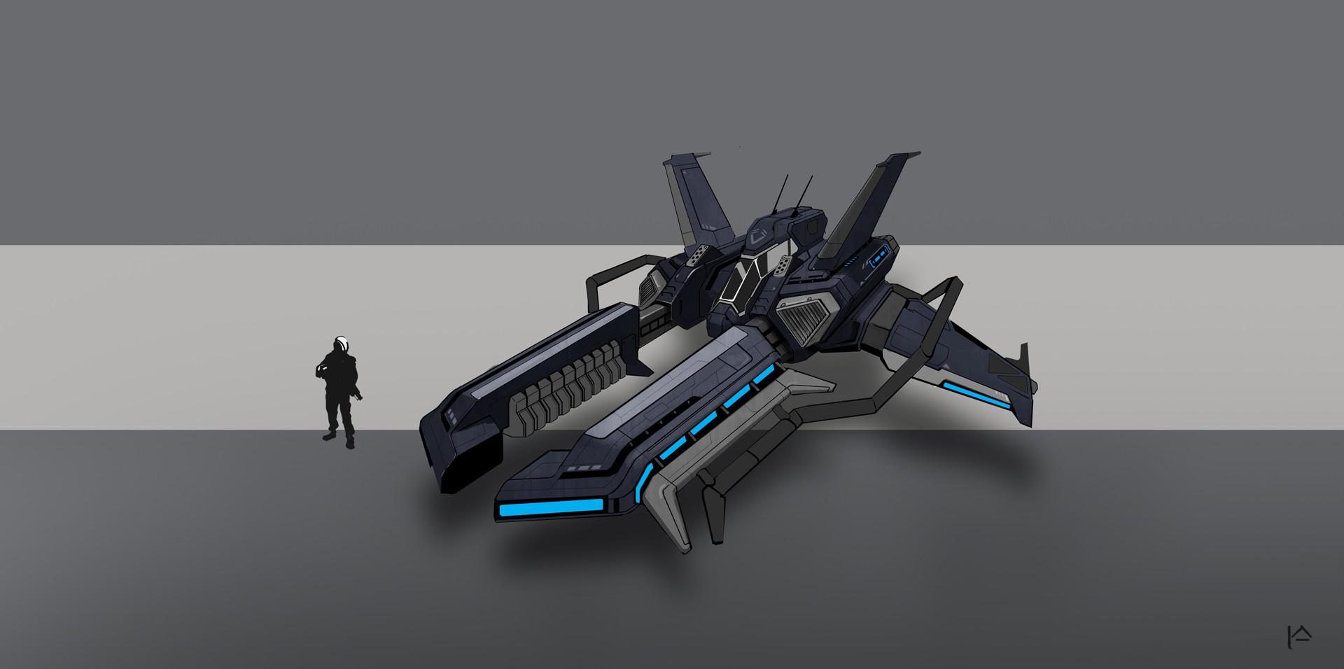 artstation starships concepts ildar alimov