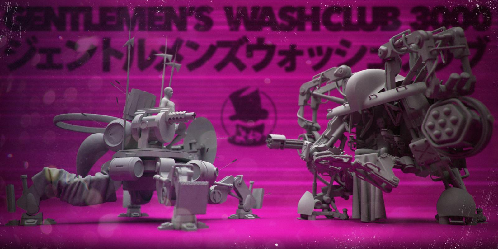 Gentlemen's Wash Club (WIP)