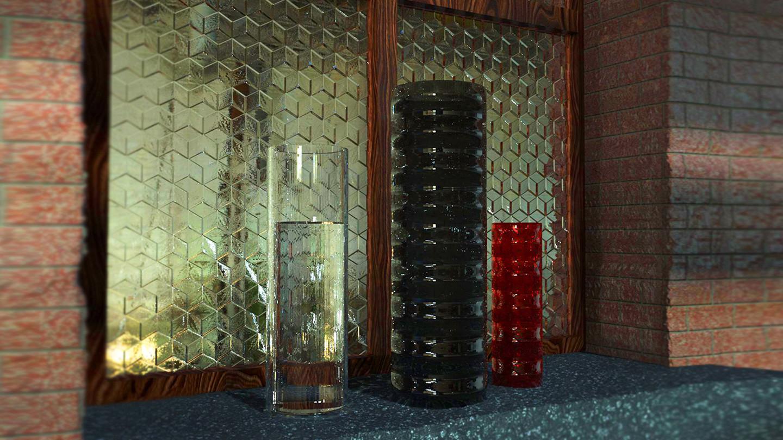 Barryn springbok glasses