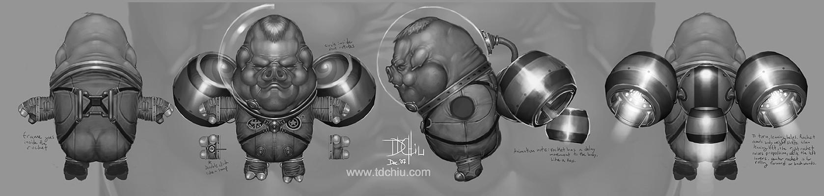 T d chiu astro wilson model sheet by te jui darren chiu www tdchiu com