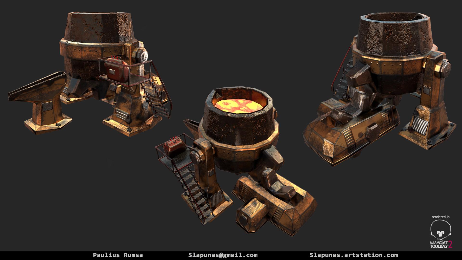 Paulius rumsa metal furnace1
