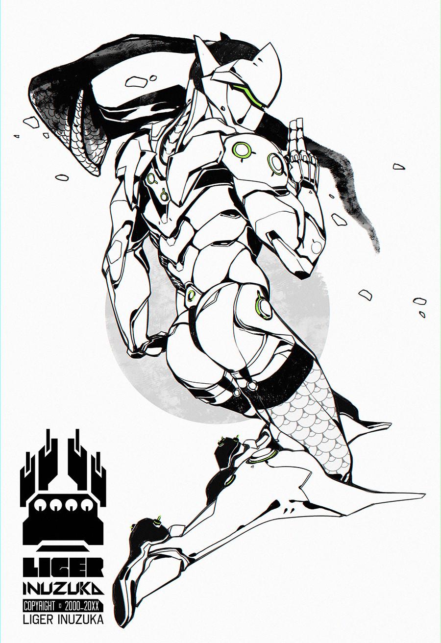 10_Overwatch: Genji