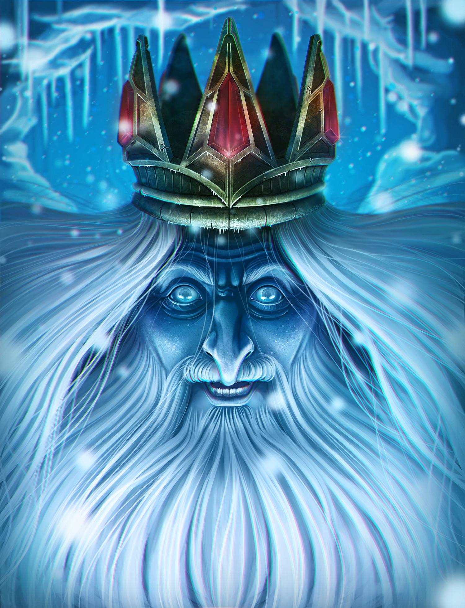 картинка ледяного короля через три