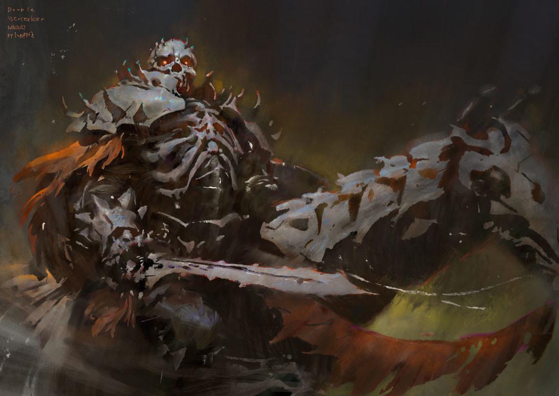Skull Knight By Krenz Cushart : Berserk