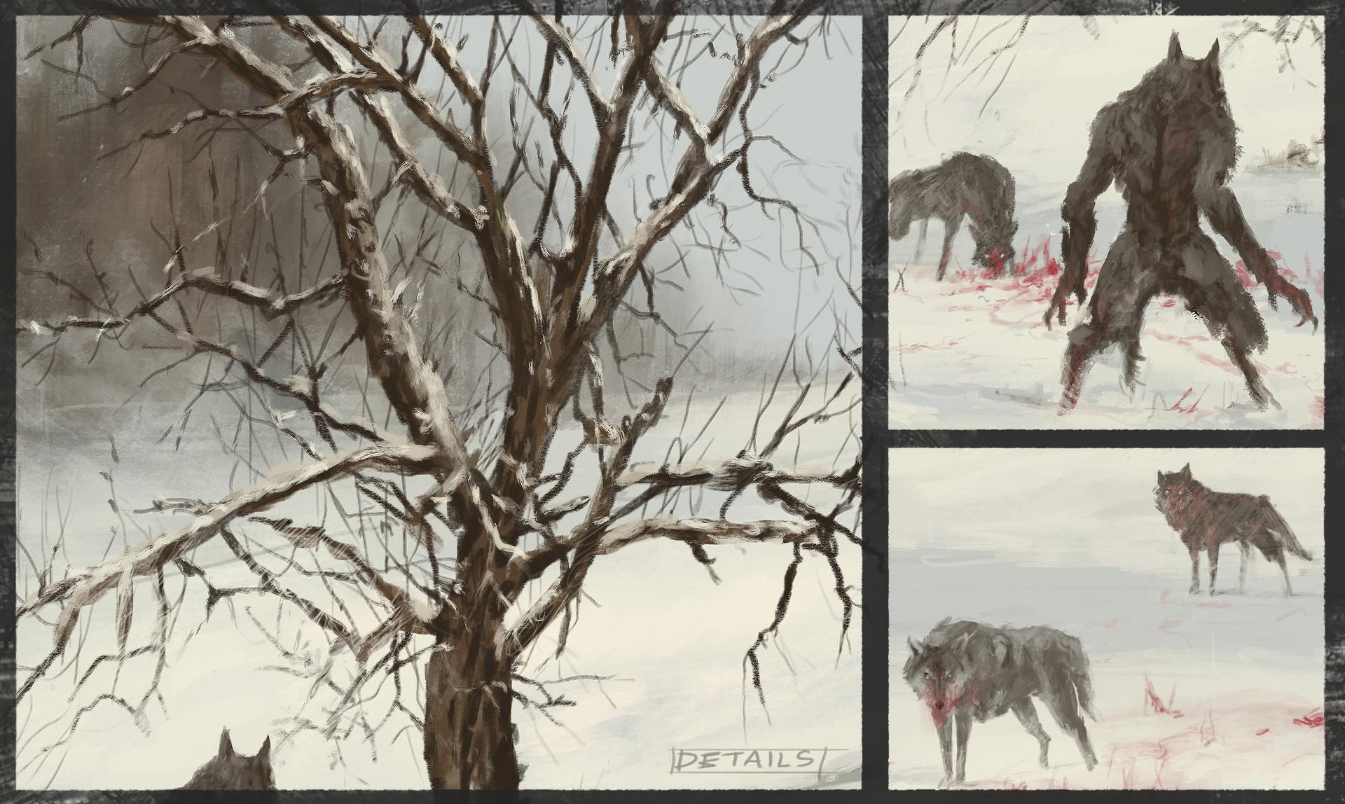 Jakub rozalski wolfpack winter01aa