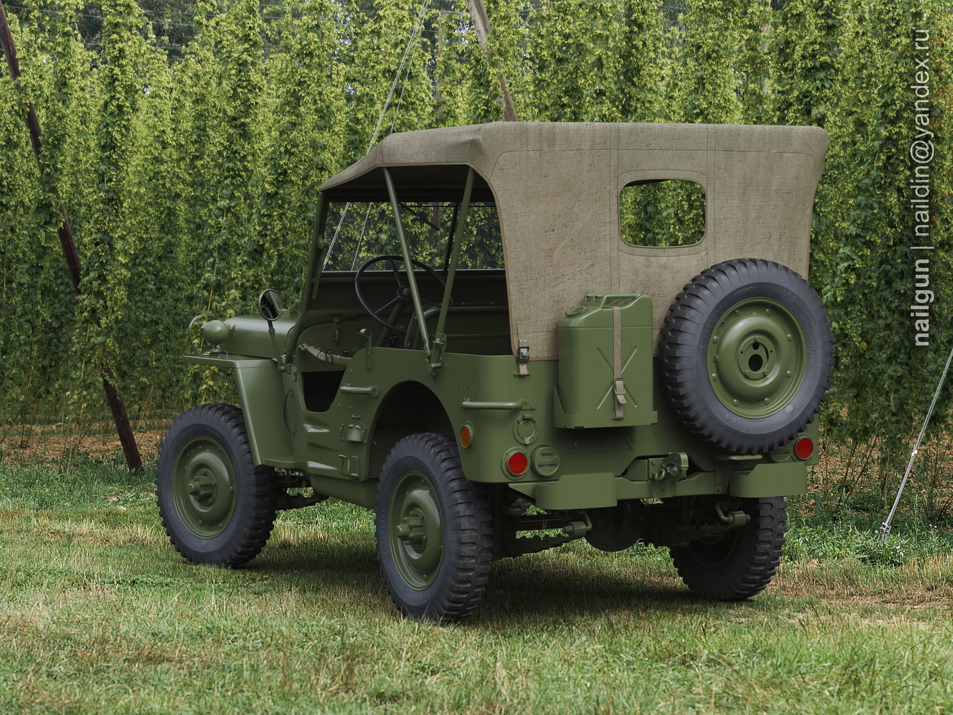 Nail khusnutdinov als 186 010 willys mb back view hi res