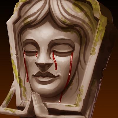 Mikael morin hamelin drawloween 16 grave