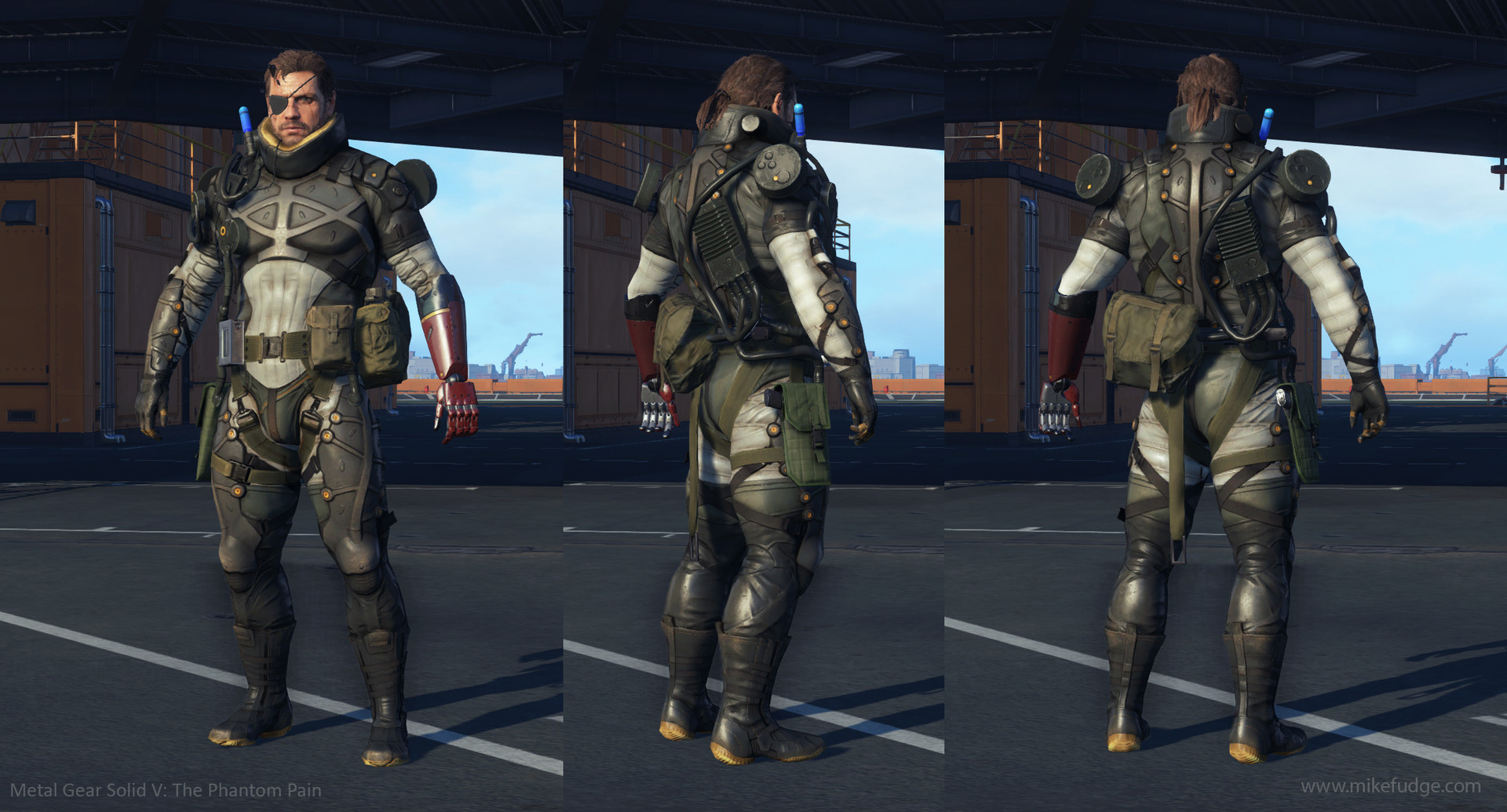 Metal Gear Solid V The Phantom Pain Concept Art