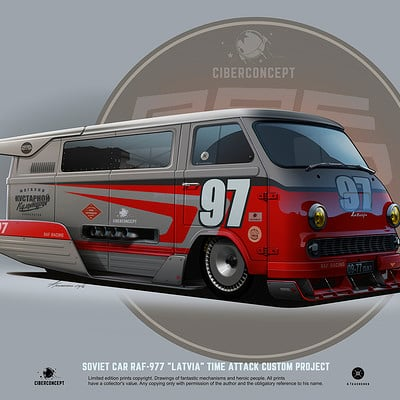 Andrey tkachenko raf vision 977 timeattack project