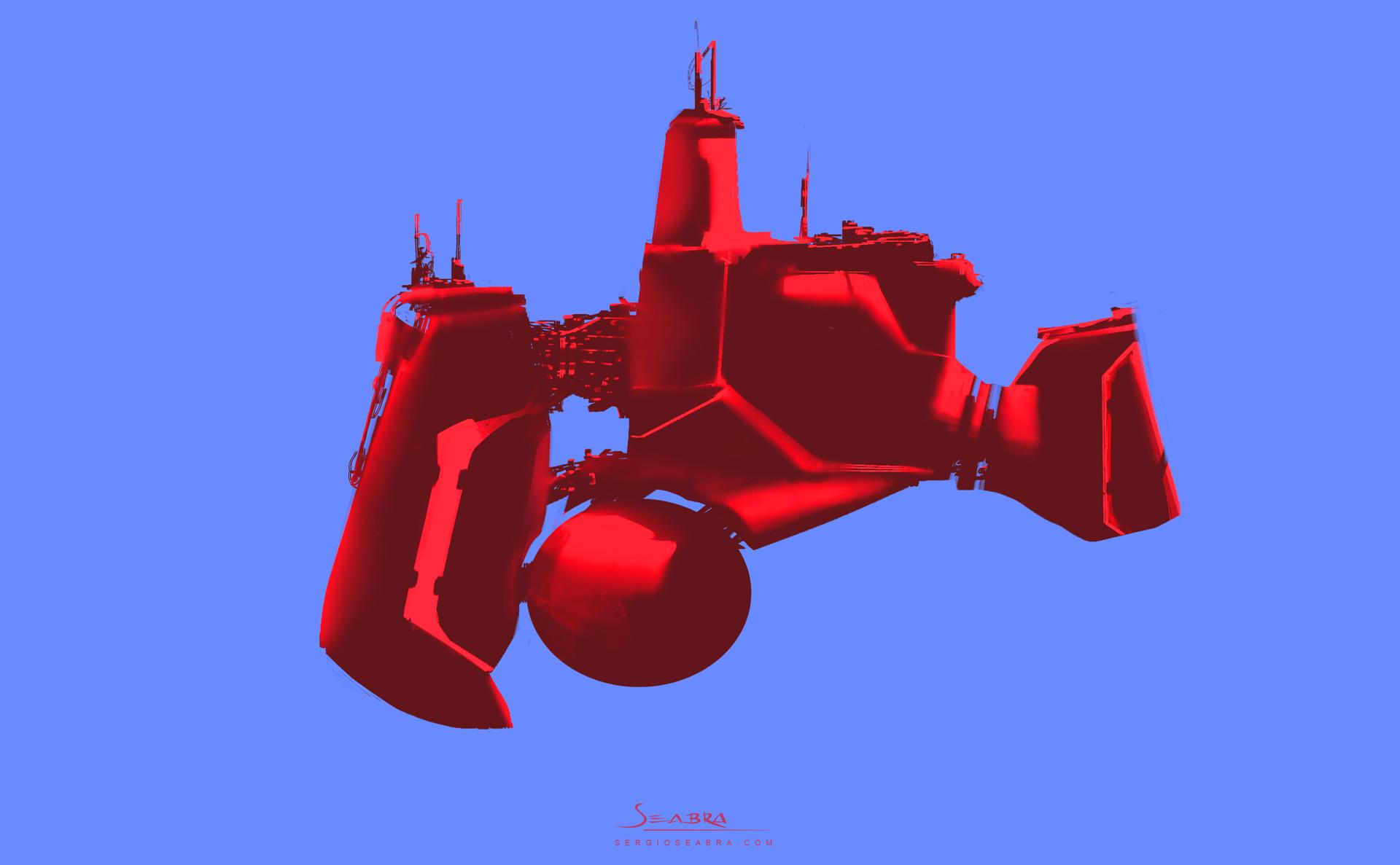 Sergio seabra 2016 spaceship expl ss1