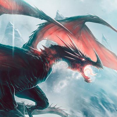 Andrea guardino ice dragon