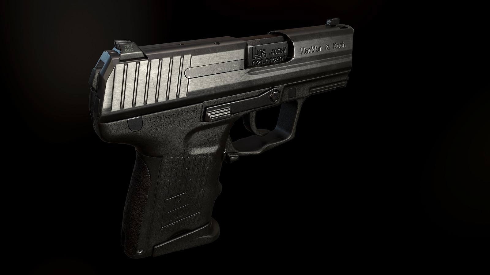 P2000SK Pistol