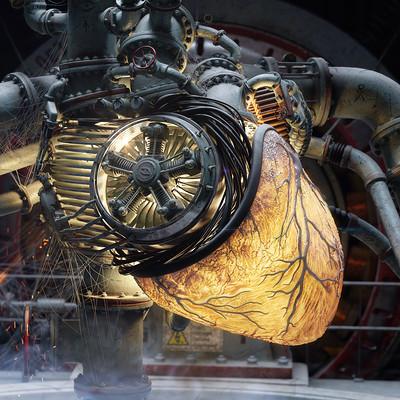 Juraj bezak detail of heart