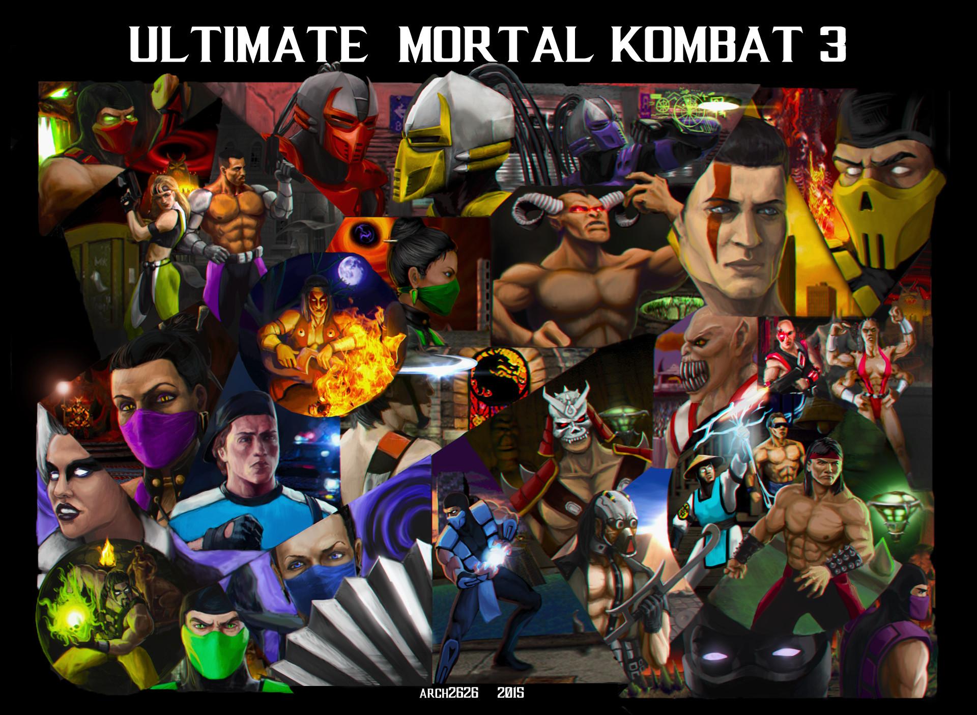 ArtStation - Ultimate Mortal Kombat 3, Eugene Napadovskiy