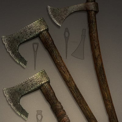 Val orlov weapons axe variants