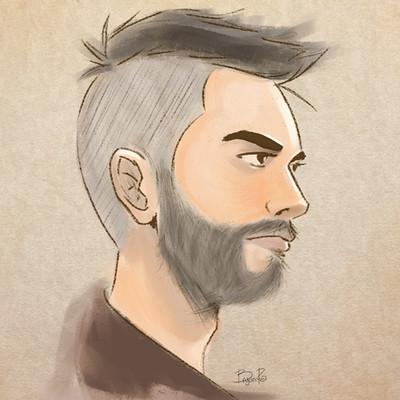 Bryan ramirez self portrait