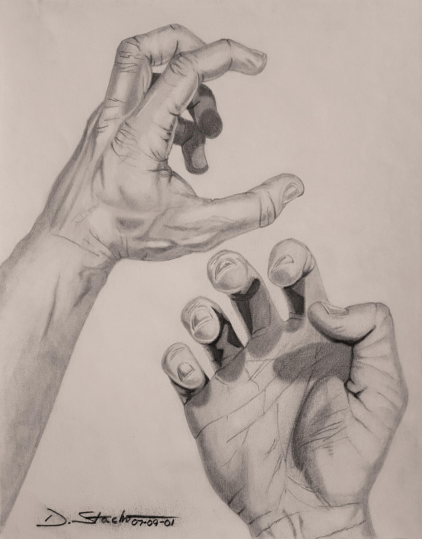 Dwayne stacho an artists hands