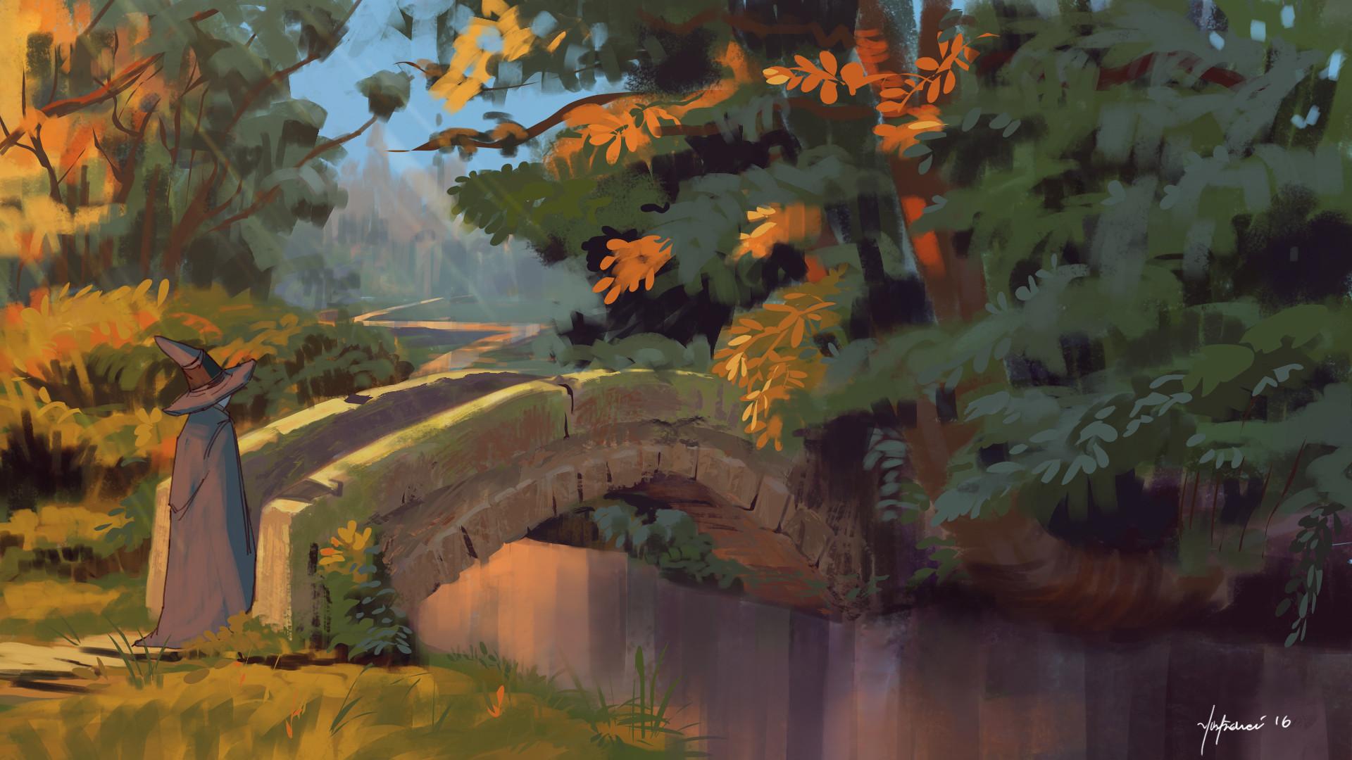 Harrison yinfaowei stone bridge