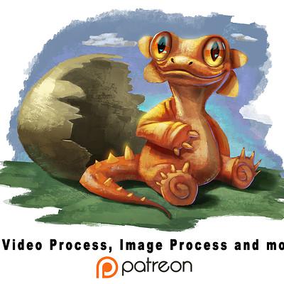Kai satoshi baby dragon patreon small