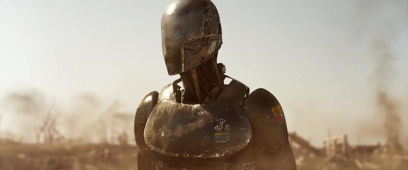 Robot Design for Uncanny Valley ( Sci-Fi short film 2015)