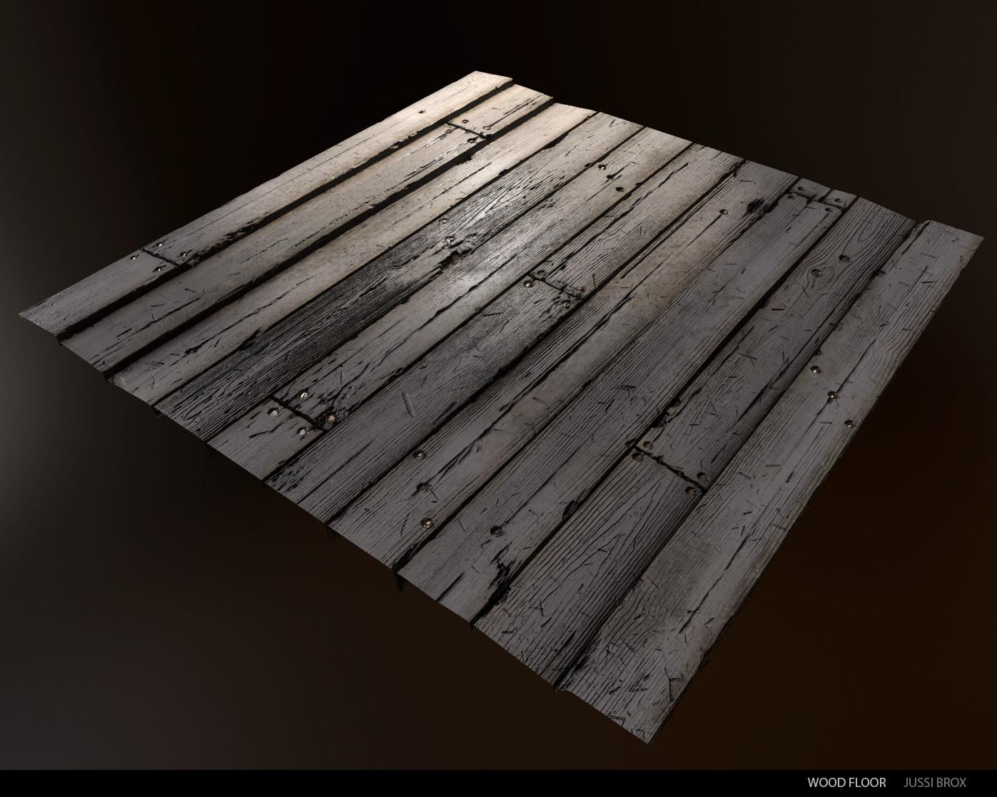 Wood study - Floor planks