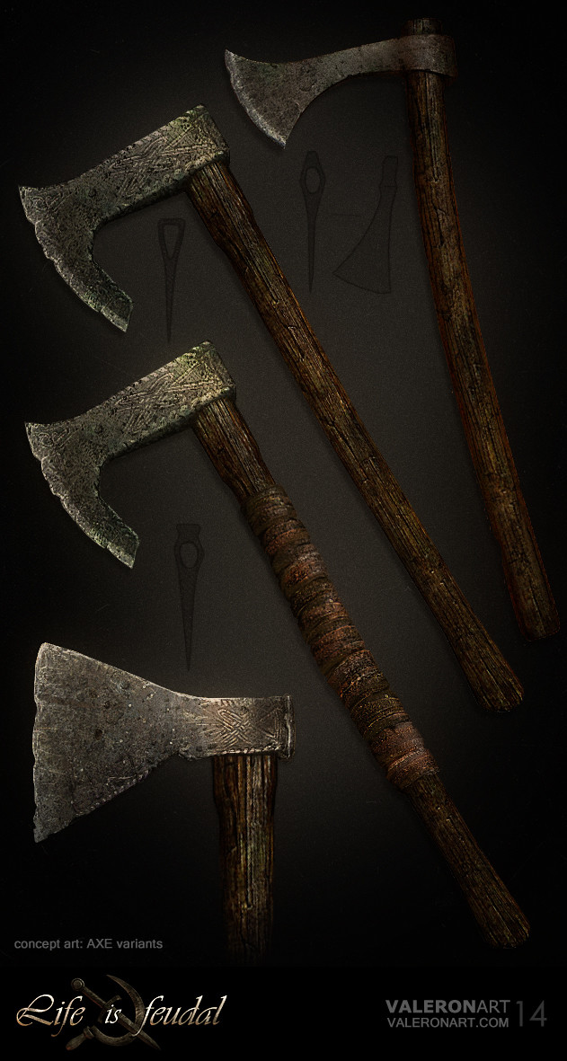 Val orlov weapons axe