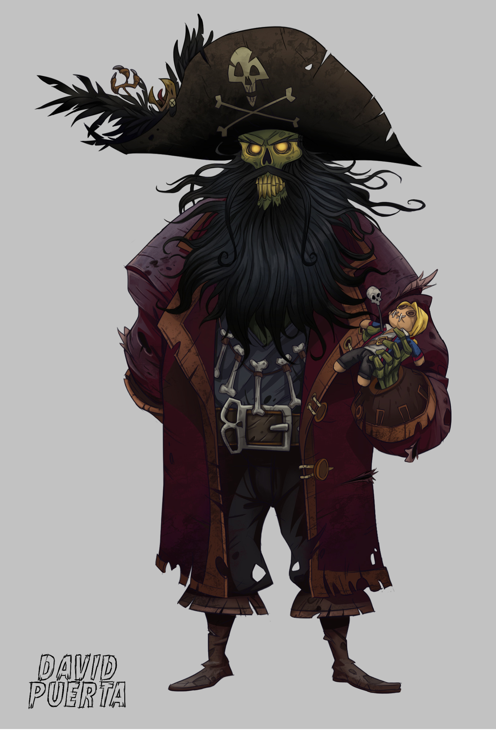 David puerta altes monkey island6 lechuck