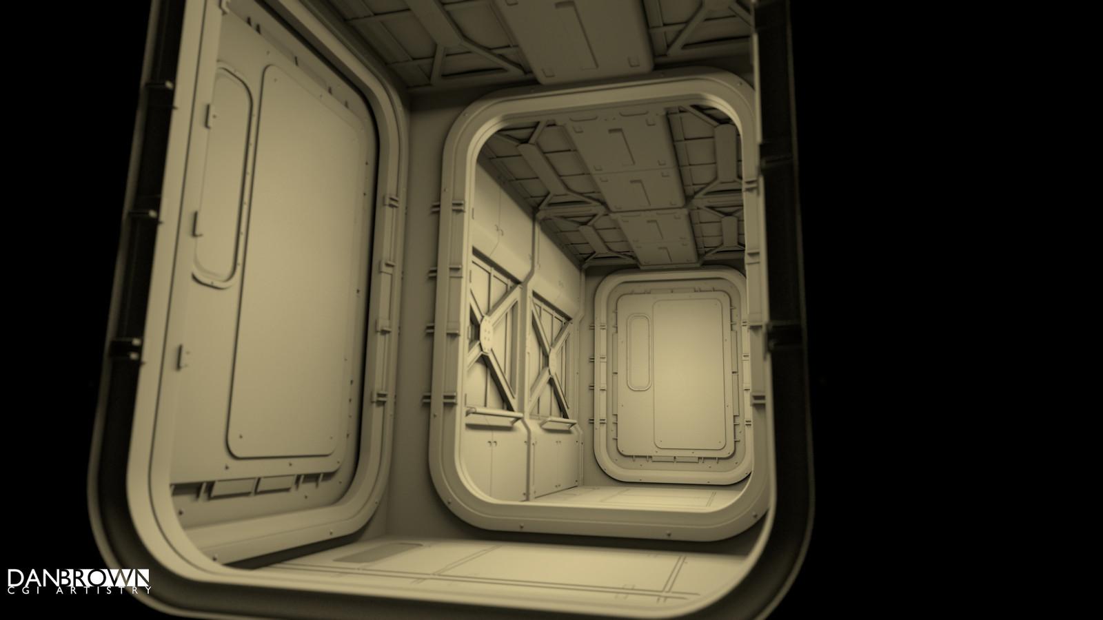 Bare bones corridor (AO)