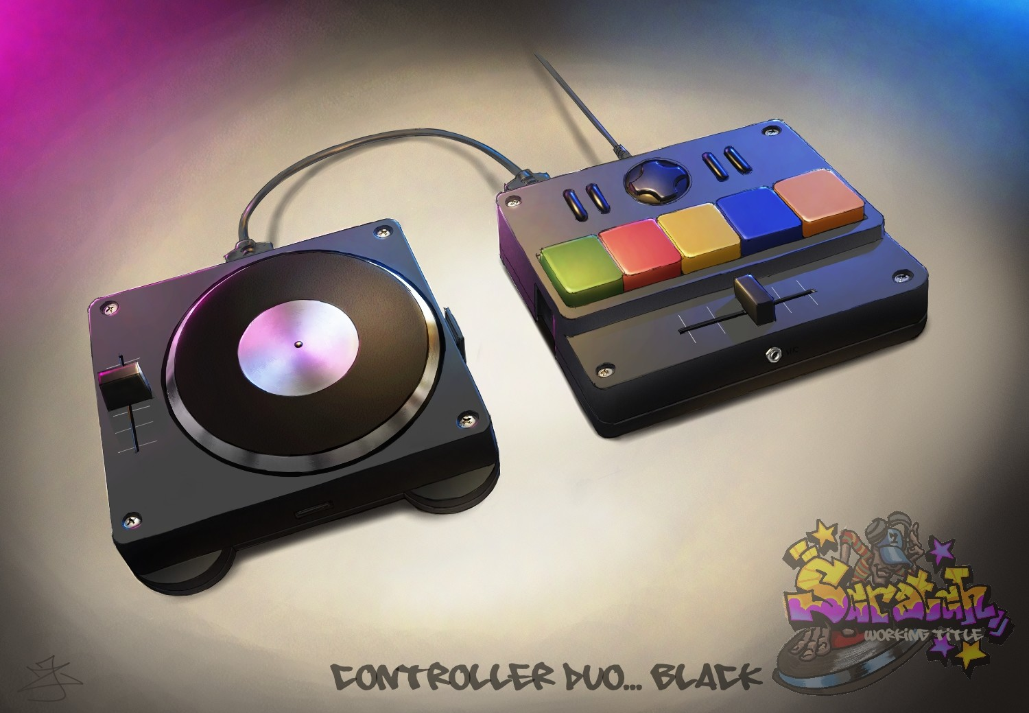 "Game Controller Concepts - ""Scratch: Ultimate DJ"" Project"