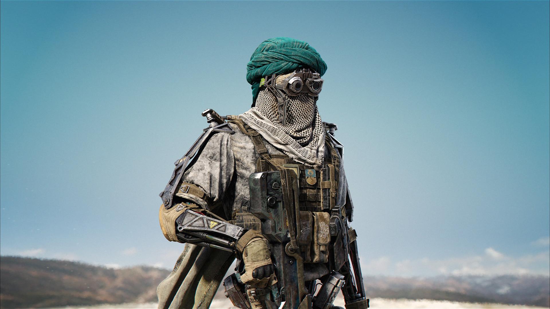 3d art _ Desert-Mech _ by Mahmoud salah Desert-Mech Desert-Mech