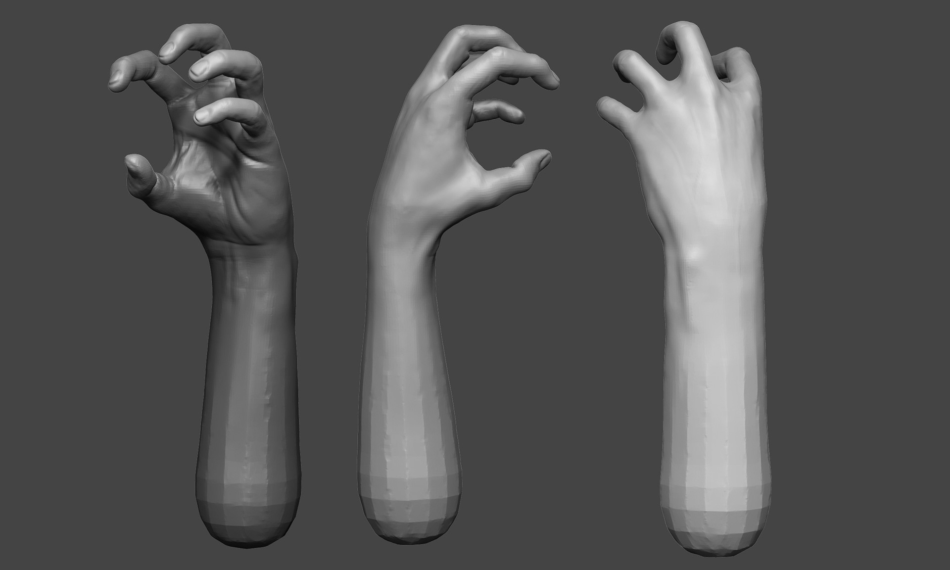 Chris Alford - Hand Studies