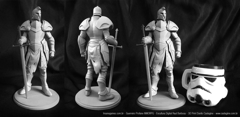 Profane-MMORPG 3D Printed