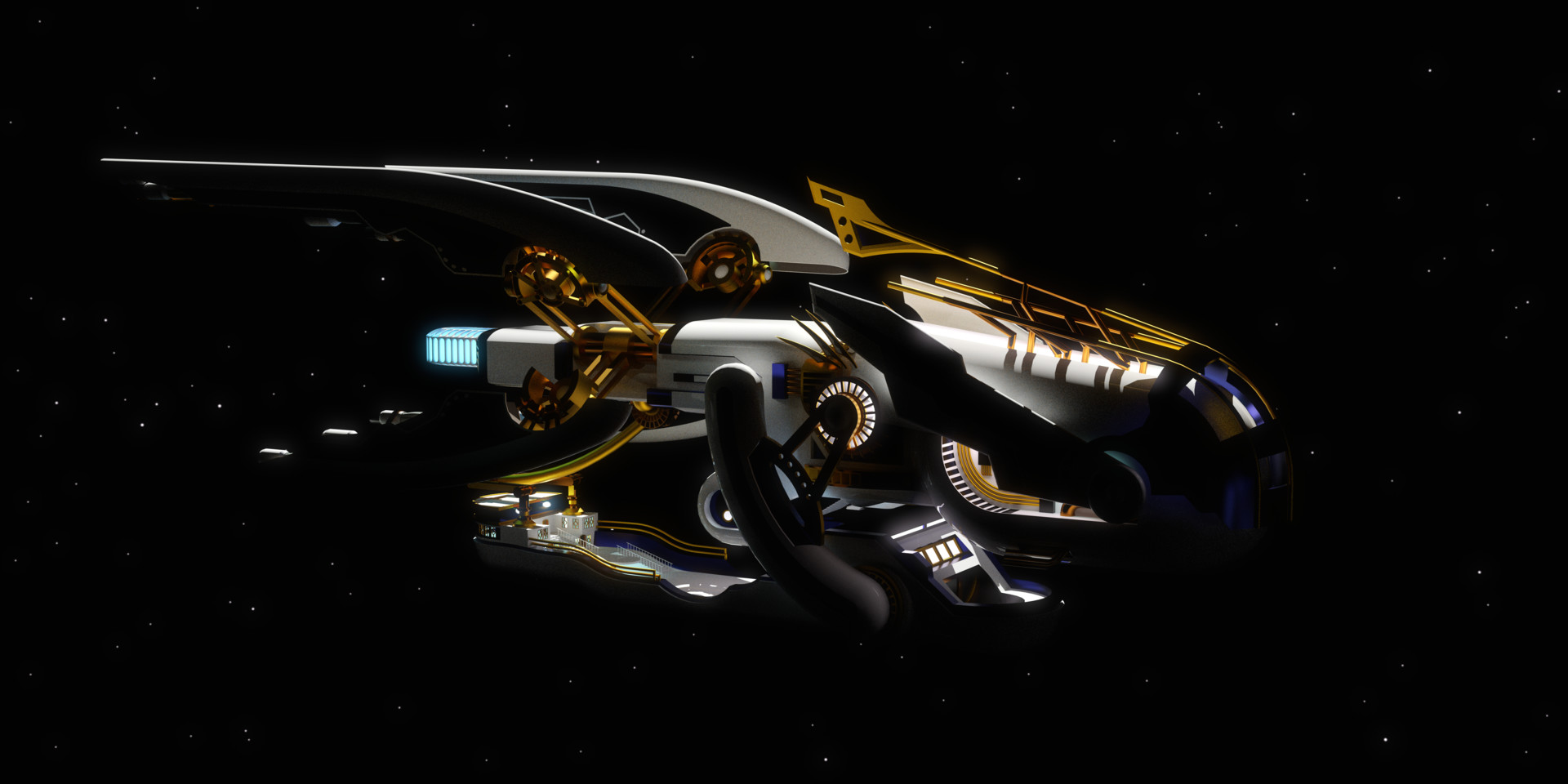 Duane kemp sky orca model by muhammx f scene 04 glare post