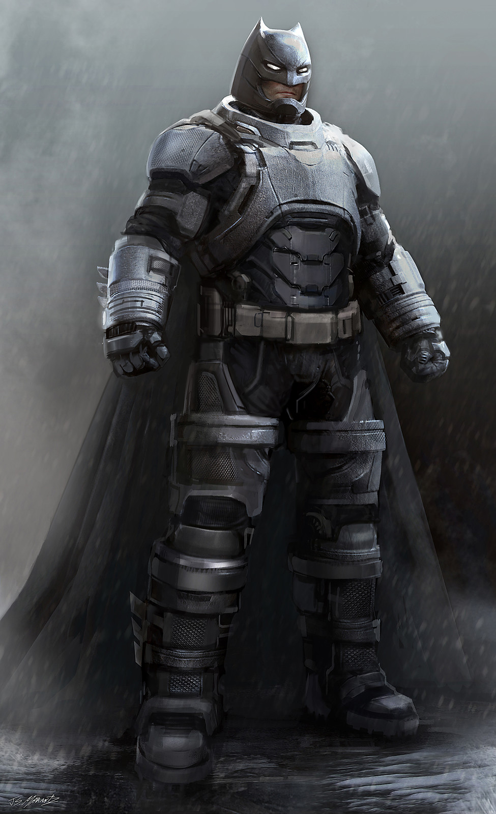 Batman vs. Superman: Batmanmech Concept Art