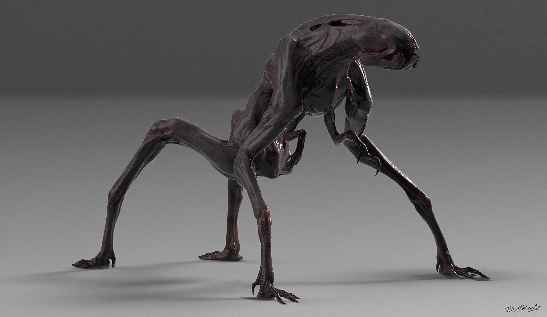 Jerx marantz creature render 4