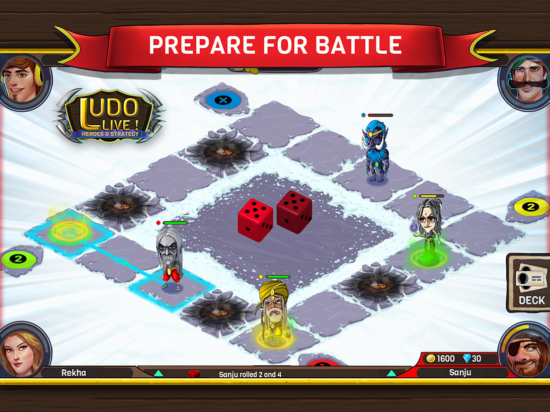 Vibhas virwani 2 prepare for battle extended zoomed out board