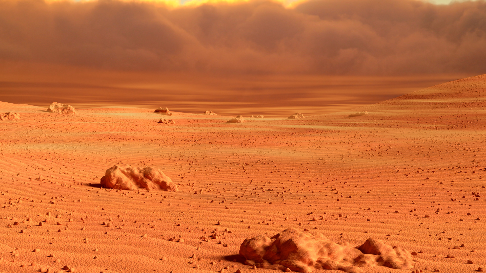 mars landscape background - HD 1920×1080