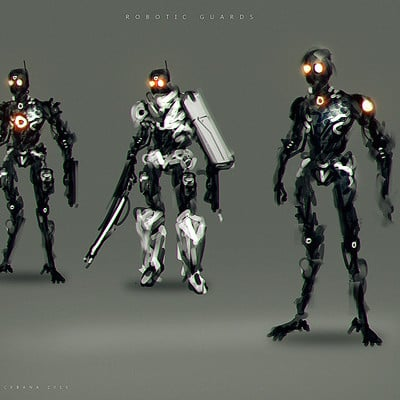 Benedick bana robotic guards lores