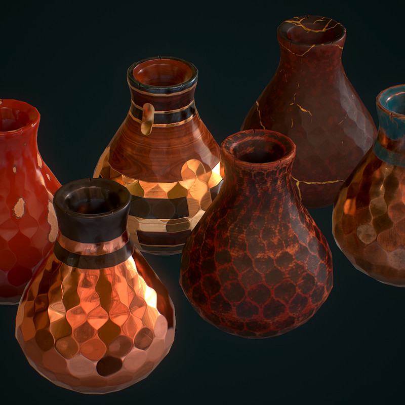 Vase Material Study