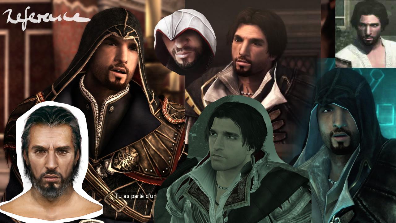 Maxi Demmler Fanart Ezio Auditore Da Firenze Portrait