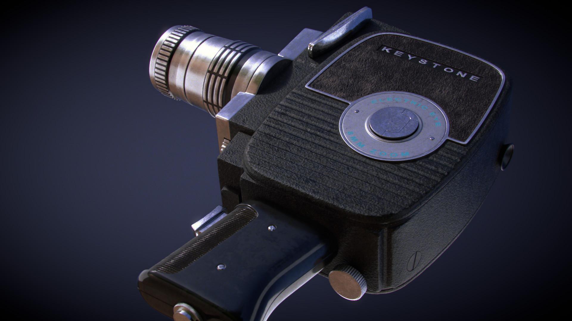 ArtStation - Old 8mm Camera, Arnaud Bellour