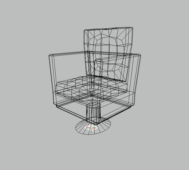 Ashton jensen chair wireframe